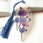 Purple Dandelion Vein Bookmark Romantic Gift (Random Color)