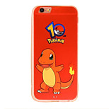 Pocket Monster 7 Cartoon Pattern PC Material Phone Case for iPhone 5 5S 5E 6 6S 6 Plus 6S Plus