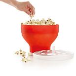 Sincone Microwave Popcorn Maker Foldable Pop corn Bowl Maker Popcorn Baking Tool