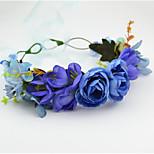 Upscale Korean Version Of The Diy Bride Bridesmaid Garland Of Roses Flower Headband
