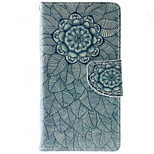 Mandala Pattern PU Leather Full Body Case with Stand and Card Slot for HTC Desire 626