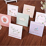 Korean Wishes Greeting Card Cute Mini Greeting Cards Valentine'S Day Cards Wedding Cards 128