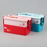 YEEYOO Brand   kids plastic double layer school bento lunch box