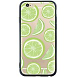 Para Funda iPhone 6 / Funda iPhone 6 Plus Antipolvo / Diseños Funda Cubierta Trasera Funda Fruta Suave TPU AppleiPhone 6s Plus/6 Plus /