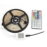 1pcs Super Bright LED Strip Light 2835 5M Waterproof RGB DC12V Flexible Strip tape light,60LED/m,