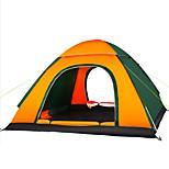 3-4 человека Световой тент Тройная Автоматический тент Однокомнатная Палатка 1500-2000 ммВлагонепроницаемый Хорошая вентиляция