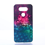 Funda Trasera A Prueba de Golpes / A Prueba de Polvo / IMD Color Camuflaje TPU Suave Frosted Case Cubierta del caso para LG LG G5
