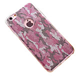 espalda Other Brillante TPU Suave Perfect fit Your Phone+Camouflage Glitter Cubierta del caso para AppleiPhone 6s Plus/6 Plus / iPhone