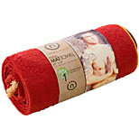 Yoga Towels Odor Free / Eco Friendly / Non Toxic Red