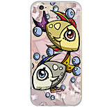 Pattern Cartoon Animal Fish PC Hard Case Back Cover For Apple iPhone 6s Plus/6 Plus/iPhone 6s/6/iPhone SE/5s/5