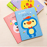 1206 Animal Cartoon Cute Little Book Mini Notebook