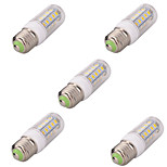 5pcs 36LED E27 LED Corn Lights 5730 LED Cool Warm White Lights Lamp Bulb(AC220-240V)