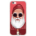 Para Funda iPhone 6 / Funda iPhone 6 Plus Ultrafina / Traslúcido Funda Cubierta Trasera Funda Dibujos Suave TPU AppleiPhone 6s Plus/6