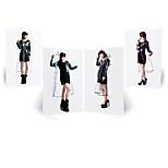 Adult Male And Female Fashion Models Thick Eva Siamese Length Coat Transparent Non-Disposable Raincoat