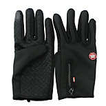 Cycling Gloves / Ski Gloves / Touch Gloves Winter Gloves Unisex Keep Warm Ski & Snowboard / Snowboarding Red / Black / Blue CanvasS / M /