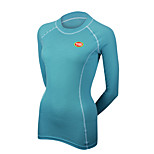 Sports Cycling Tops Women's Bike Breathable / Compression Long Sleeve LYCRA® / Terylene / CoolmaxClassic