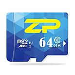 ZP  64GB UHS-I U1 / Class 10 MicroSD/MicroSDHC/MicroSDXC/TFMax Read Speed80 (MB/S)