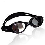 Swimming Goggles Unisex Sports / Diving Goggles Black Latex PC