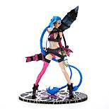 Jenks Kiniks Would Do Lolita Runaway League Jinx LOL Garage Kit Anime Action Figures Model Toy