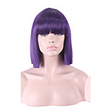 Mulit Color Fashion Hot Sale Purple White Color BOBO Synthetic Wigs