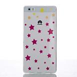 Back Cover Ultra-thin Geometric Pattern TPU Soft Case Cover For Huawei Huawei P8 / Huawei P8 Lite
