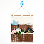 Five Pockets Behind The Door Dot Home Furnishing With Storage Bag