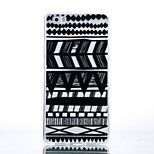 TPU Material Black Tribal Pattern Pattern Cellphone Case for Huawei P9Lite/P9/P8Lite