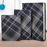 Plaid Cloth Cover Students' Exercise Book Personalized Notebook Business Notebook (Small Size)