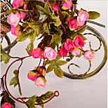 Simulation Stars Rose Rattan Prosthesis Silk Roses Home Decoration Wedding Garlands Fujikake