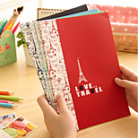 8005 Korea Stationery Small Fresh Love London Tour 16K Solid Notebook B5