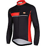 Sports Bike/Cycling Tops Men's Long Sleeve  Wearable / Ultra Light Fabric / Thermal / Warm LYCRA® / Terylene