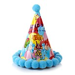 Birthday Party Accessories-1Piece/Set Hats Flowers Hard Card Paper Classic Theme Other Non-personalised