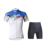 PaladinSport Women  Cycyling Jersey + Shorts Suit DT687 JoiningTogether