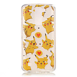 TPU + IMD Material Pikachu Pattern Painted Relief Phone Case for LG K10/K8/K7/K4