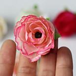 Hot Tea Bags Small Silk Slippers Simulation Artificial Flower Garlands Accessories Semi-Manual Props Artificial Flowers