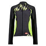 Sports Cycling Tops Women's Bike Breathable / Front Zipper  / Terylene / CoolmaxClassic