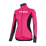 Sports Cycling Tops Women's Bike  Front Zipper / Ultra Light Fabric / Compression Long SleeveLYCRA® / Terylene