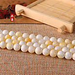 DIY Jewelry Light Yellow Glass Ball Charm 4mm 98pcs for Bracelet