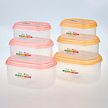 YOOYEE Brand Best Quality 3 pcs/set Fridge Storage Container