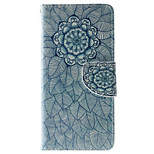 Mandala Pattern PU Leather Full Body Case with Stand and Card Slot for Huawei Ascend P9 Lite/P8 Lite