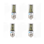 4 pcs BRELONG E14 / G9 / GU10 / E26/E27 / B22 LED Corn Lights 80 SMD 5733 1200 lm Warm White / Cool White AC 220-240 V