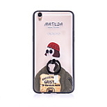 Leon - The Professional  Mathilda  Ring Holder Frosted /  Translucent / Embossed / TPU+PC for iPhone 6/6s/6plus/6s plus