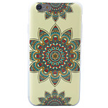HD Painted Three Floral Pattern Material TPU Phone Case For iPhone SE 5s 5 6s 6 6s Plus 6 Plus
