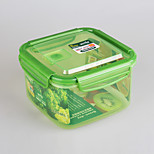 Food Grade Plastic Material Take Way Food Container with Lock