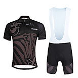 Cycling PaladinSport Men Shirt + Straps Shorts Suit DX682 Follow Fate
