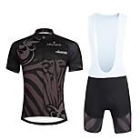 PALADIN® Maglia con salopette corta da ciclismo Per uomo / Unisex Maniche corte BiciclettaTraspirante / Asciugatura rapida / Resistente