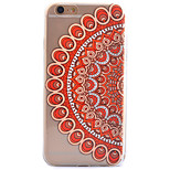 3D Relief Feel Colour Pattern TPU Material Phone Shell for iPhone 5 SE 5S 6 6S 6Plus 6S Plus