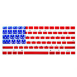 National Flag Pattern Keyboard Protective Film for 13.3