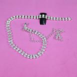 30Cm Silver Mini Shiny Rhinestones Chain Nail Studs Charming 3D Nail Art Chains Nail Charms  Nail Decoration