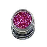 1 Bottle Nail Art Match Color Highlight Glitter Shining Colorful Powder Nail Makeup Beauty 11